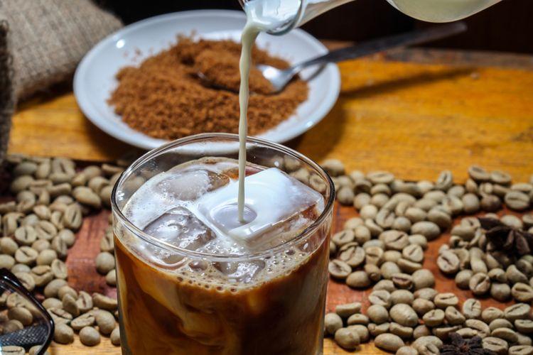 kopi susu gula aren
