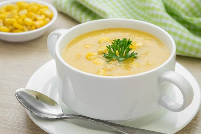 membuat cream soup jagung