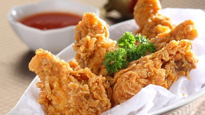 Cara Membuat Ayam Crispy Dengan Tepung Biasa