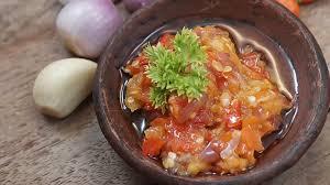 Cara Membuat sambal Bawang Putih