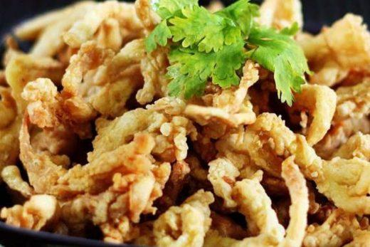 cara membuat keripik jamur tiram