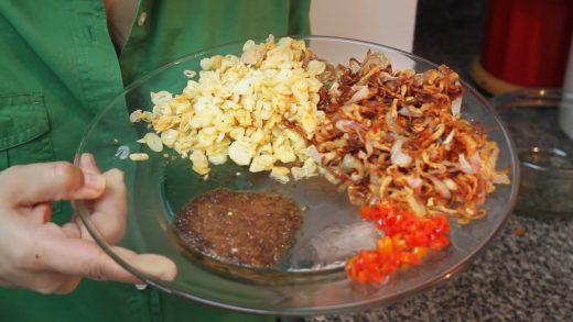 Cara Membuat Sambal Bawang Goreng Kering