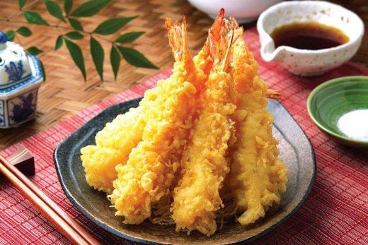 cara membuat tempura udang
