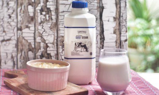 Beberapa manfaat susu segar bagi tubuh