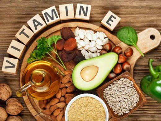 Macam- macam sayur dan buah yang mengandung vitamin E