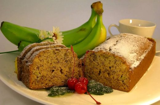 Resep cara membuat bolu pisang panggang yang enak